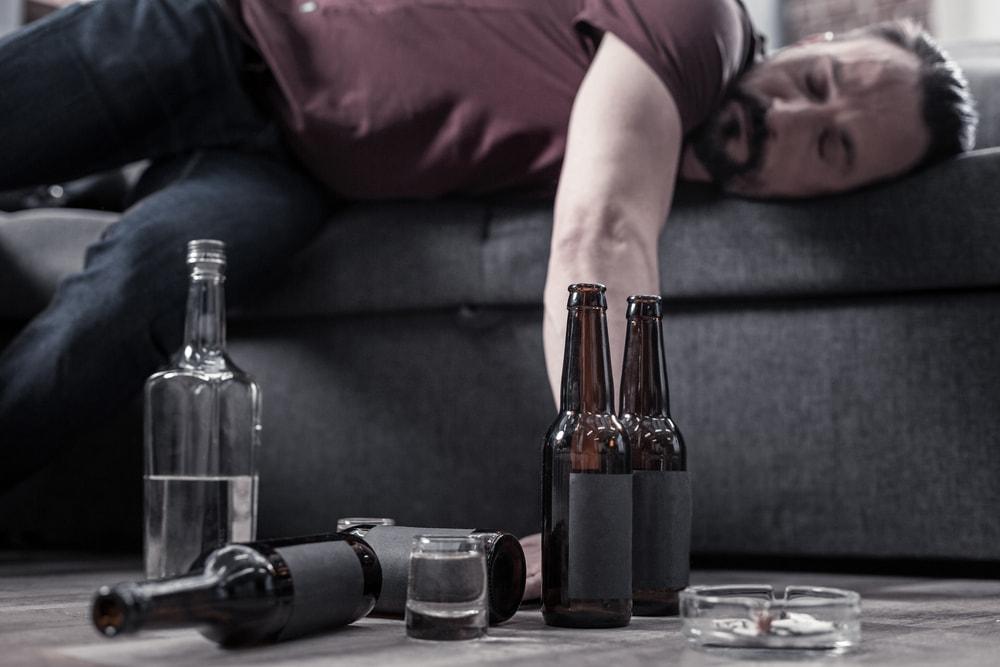alcoholismo sintomas fisicos
