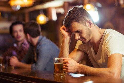 alcohol y soledad